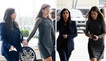 Kim Kardashian & Hot Friend Laura Wasser Plan Trial Strategy in Divorce
