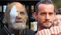 WWE Superstar CM Punk -- Gunshot Victim Deserves BACKSTAGE PASSES!