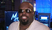CeeLo Green -- In & Out of Custody, Officially Booked for Ecstasy Charge