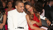 Chris Brown & Rihanna Snuggle at the Grammys