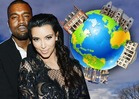 Kim Kardashian & Kanye West -- First, Bel Air ... THEN THE WORLD!!!