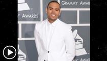 Chris Brown -- Earns Award for Worst Grammy Weekend