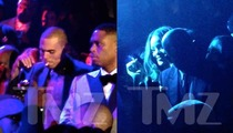 Chris Brown & Rihanna Get Blunt at Grammys Afterparty