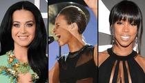 Grammy Awards -- Underboob 'Barely' Met CBS' Standards