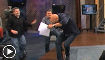 Steve Wilkos' Head -- SLAMMED with Metal Bowl in Talk Show Brawl