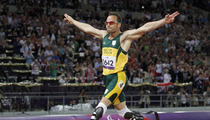 Oscar Pistorius' Blade Legs -- NOT Considered Weapons Behind Bars