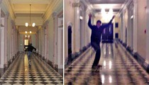 Tony Hawk Rolls Through the White House