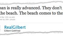 Gilbert Gottfried -- SHOCKING Japan Tsunami Jokes