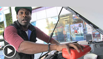 YouTube Star DeStorm Power -- Freestyle Rap Sesh ... At the Gas Station