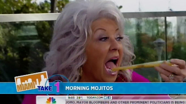 Paula Deen -- DRUNK On Today Show ... Or Just Goofy