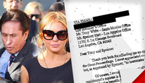 Outrageous Letter to Prosecutors -- 'We Can Fix Lindsay Lohan'