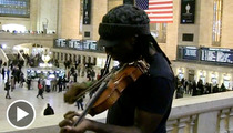 Dave Matthews Band Violinist Boyd Tinsley -- Grand Central Station Jam Session