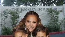 Jennifer Lopez -- Please Admit My Twins to Your School!