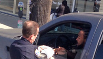 NBA Star Ronny Turiaf -- Slapped w/ THREE Tickets ... Welcome BACK to L.A.