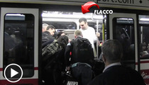 Joe Flacco -- I Might Make $121 Million ... But I Still Ride the Bus