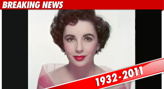 Charmant Elizabeth Taylor Died At 1:28 AM At Cedars Sinai Medical Center In Los  Angeles ... Where She Had Been Hospitalized For The Past Couple Of Weeks.