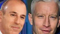 Matt Lauer -- I'm Down with Anderson Cooper Replacing Me on 'Today'