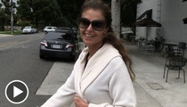 Maria Shriver -- My Christmas Lights Ain't Going NOWHERE