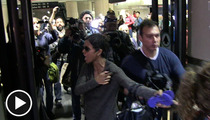 Halle Berry -- Restrains Olivier During Explosive Altercation with Paps
