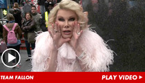 Joan Rivers -- Finally ... Someone Funny Is Hosting 'The Tonight Show'