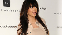 Kim Kardashian -- I CAN Stop Eating!!!