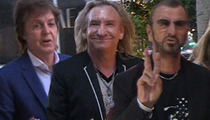 Paul McCartney, Ringo Starr and Joe Walsh -- Rock Gods Unite!