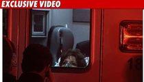 Joan Collins' Oscars Emergency -- The Footage