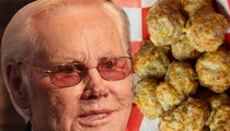 George Jones -- Honored with Sausage Balls