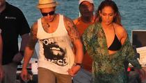 Jennifer Lopez -- Shots Fired Near Music Video Shoot