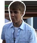 Justin Bieber: Spit-Head?