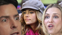 Brooke Mueller Tries to Wrestle Twins From Charlie Sheen, Denise Richards