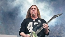 Slayer Guitarist Jeff Hanneman -- Band Says Rocker Died from Alcohol-Related Liver Failure