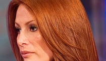 Angie Everhart -- Diagnosed with Thyroid Cancer