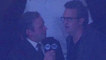 REPORTER FAIL!!! -- Matthew Perry Congratulated ... For Show Being Cancelled!