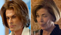 Rob Lowe -- Behind the ... Lucille Bluth?