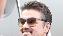 George Michael -- OUT OF HOSPITAL ... 2 Weeks After Car Wreck