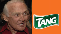 Buzz Aldrin -- I'm Just Going To Say It ... TANG SUCKS!