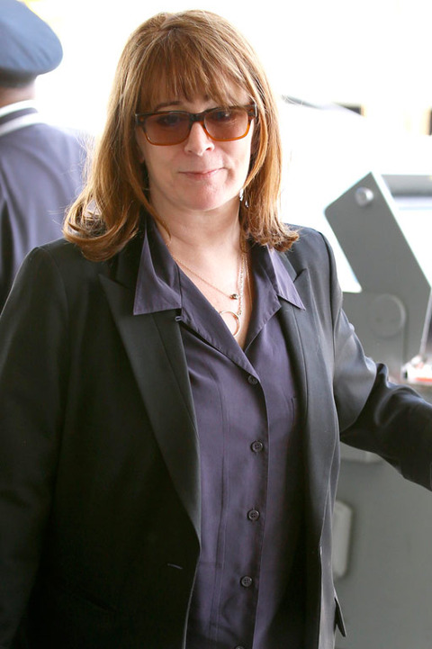 Patricia Richardson was spotted at the airport looking improved.