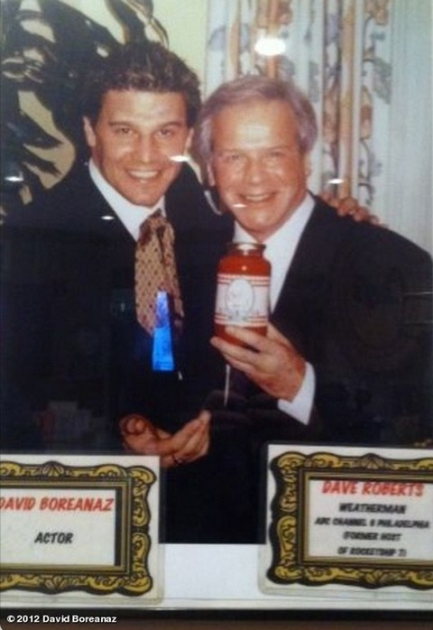 David Boreanaz with his father!