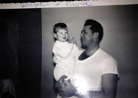 David Hasselhoff with his father!