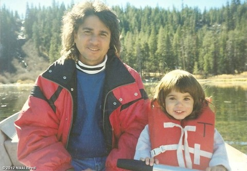 Nikki Reed with her father!