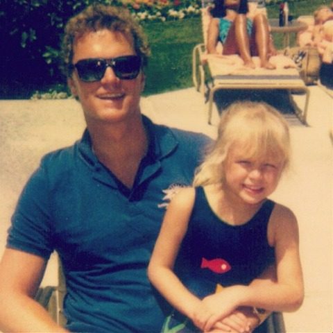 Paris Hilton with her father!