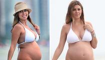 Jamie Lynn Sigler -- Pregnant Bikini Babe