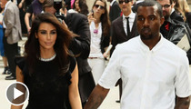 Kim Kardashian and Kanye West's Kid -- North West ... Classic Misdirection