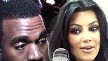 Kim Kardashian & Kanye West -- North West's Name Is Non-Directional