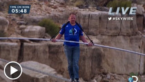 'Skywire' Walker Nik Wallenda -- Stunt Proves God Watches Discovery