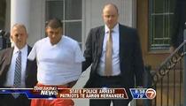 Aaron Hernandez -- ARRESTED in Murder Investigation