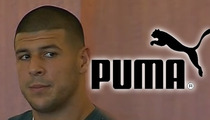Aaron Hernandez -- Dropped By Puma