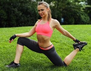 Karina Smirnoff's Sexy Workout Pictures