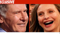 Harrison Ford and Calista Flockhart -- Married